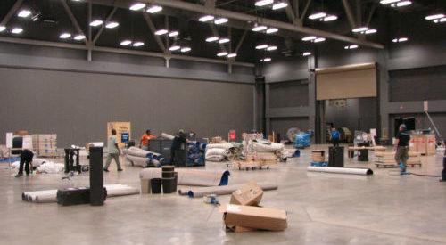 Show Floor Setup