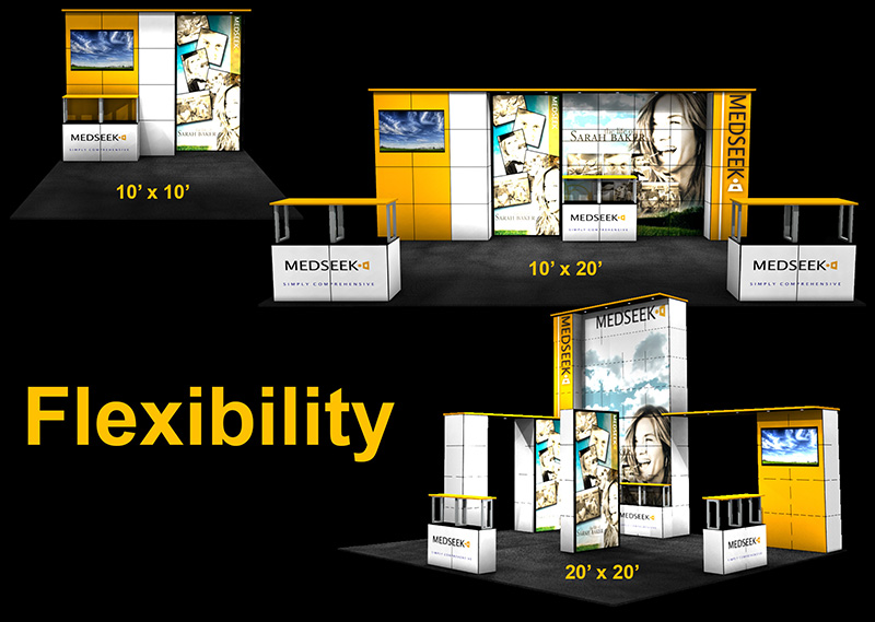 Flexibility from the ExpoDisplays MultiQuad System