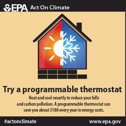 Use a Programmable Thermostat